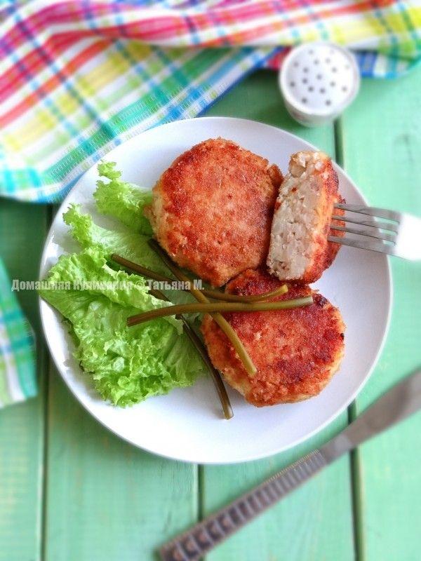 Биточки картофельно-мясные. Детское меню в кулинарном блоге Татьяны М.