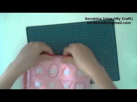 Quiet book tutorial: binding pages / МК: шьем развивающую книжку: обработка страниц бейкой - YouTube