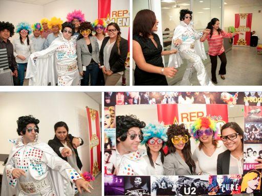 quidquid colabora en la activación del Show de Talentos Navideños de Red de Energía de Perú (REP)