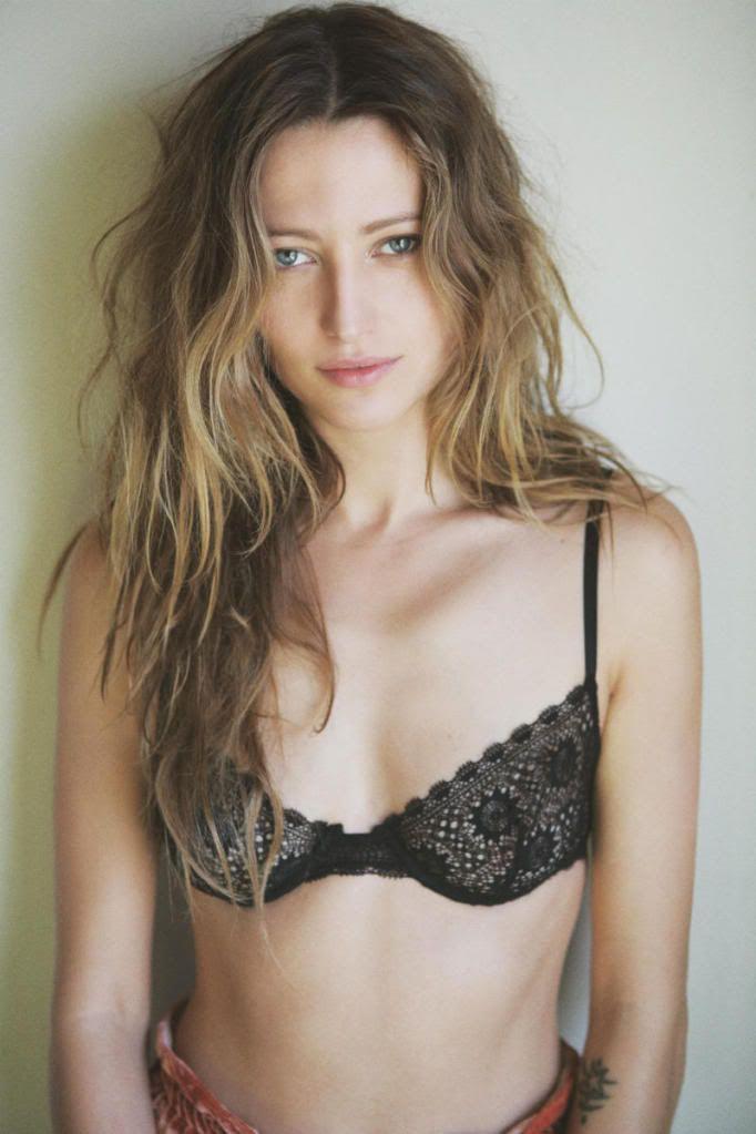 model Rosalee sheers bikini