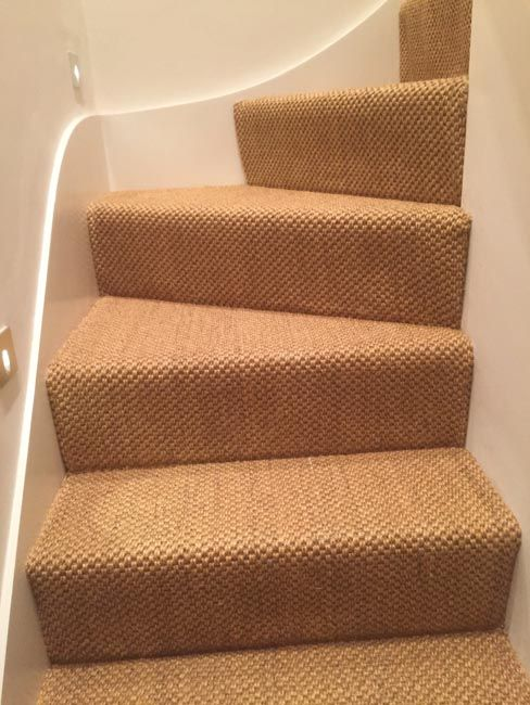 To Supply U0026 Install Sisal Carpet To Stairs
