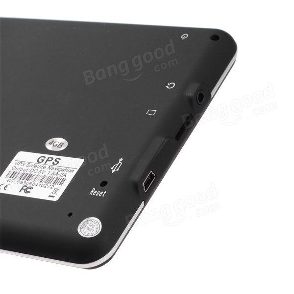7 Inch Car GPS Navigation TFT LCD Touch Screen Windows CE6.0 System Sale - Banggood.com
