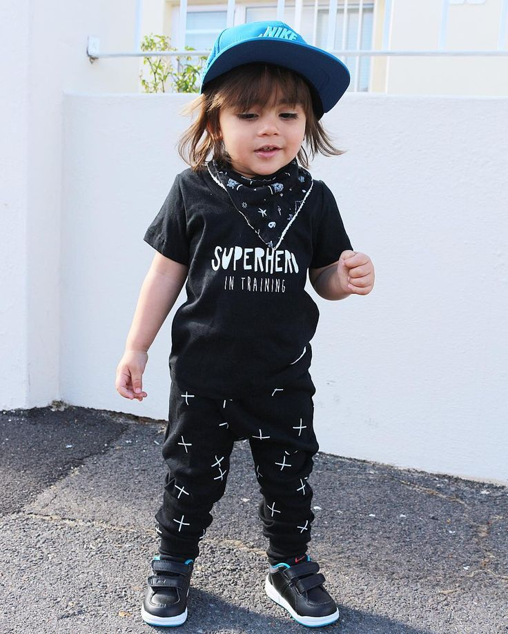 Baby boy fashion superhero