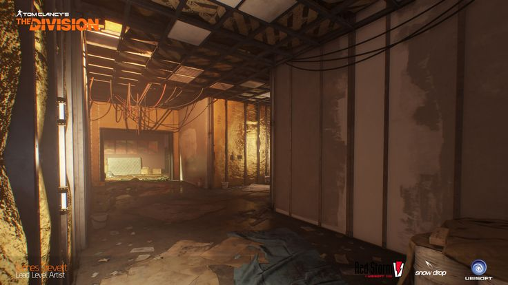 ArtStation - The Division: Last Stand - Modular Hallways, James Trevett