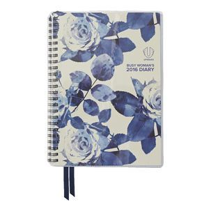 Upward Busy Woman A5 Week-to-view 2016 Diary Assorted