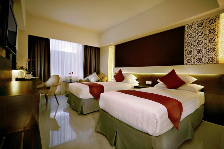 Twin Bed Room #atriamagelang #atriahotels #managedbyparador #paradorhotels #magelang #borobudur #indonesia