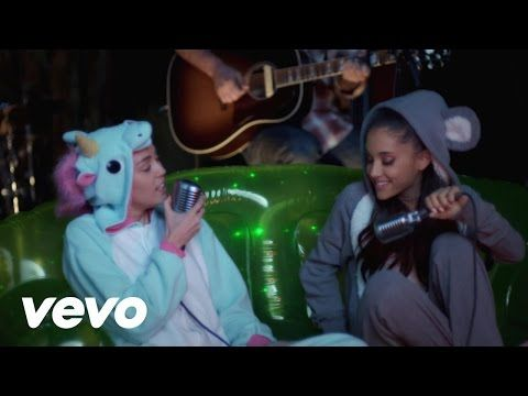 Happy Hippie Presents: Don't Dream It's Over (Performed by Miley Cyrus & Ariana Grande) - YouTube