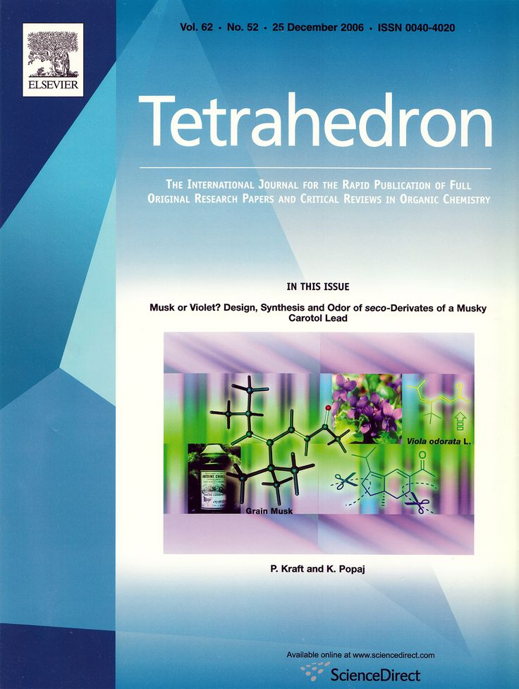 Philip Kraft, Kasim Popaj, Musk or violet? Design, synthesis and odor of seco-derivatives of a 			musky carotol lead, Tetrahedron 2006, 62, 12211–12219. https://doi.org/10.1016/j.tet.2006.10.020