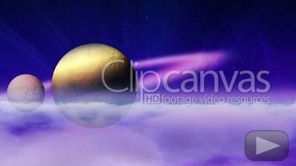 Download this free stock footage clip of planet, moon, space, offered by FredMantel. Buy stock footage at Clipcanvas.com