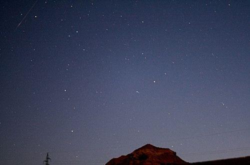 Lluvia de perseidas 2013. Magia en el cielo. Foto de Rafael Campillos. ¡Preciosa!