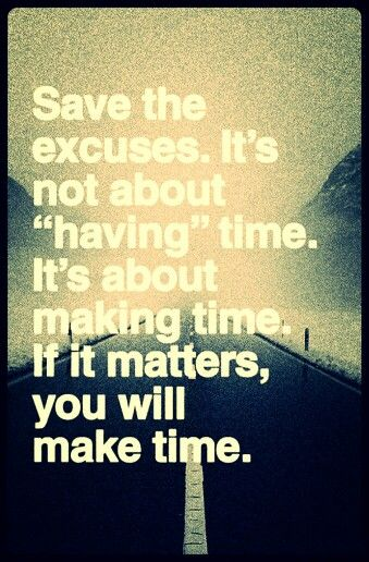 Life's too short - make time. .♡