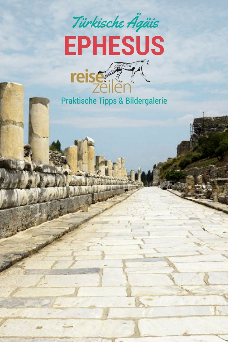 Ephesus in der Türkei ist eine der berühmtesten Sehenswürdigkeiten. Im Fall der antiken Stadt muss ich jedoch gestehen: der Hype ist gerechtfertigt. So beeindruckend!