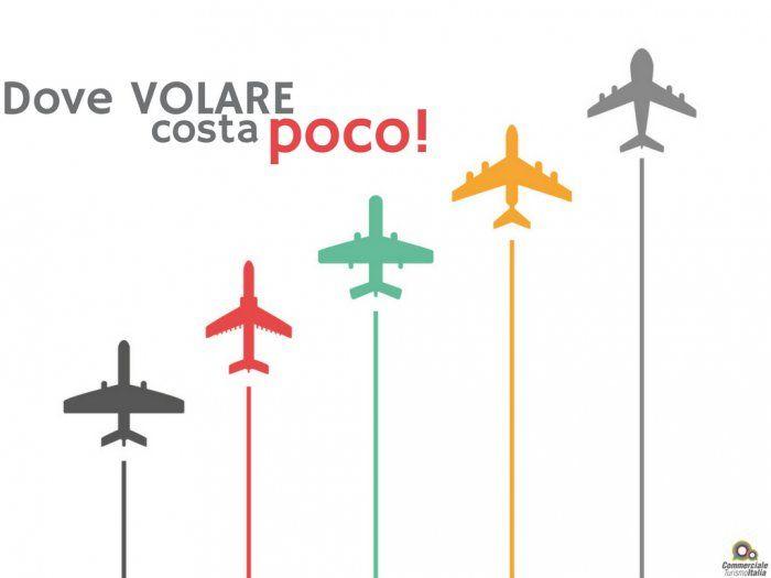 Dove volare costa meno: ecco la mappa per le Agenzie di Viaggio!