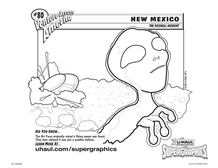 u haul supergraphics coloring contest pages - photo #5