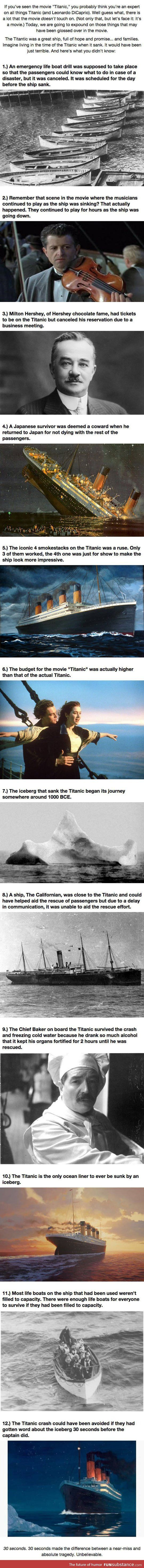 Some Of Titanic's Secrets And Facts – FunSubstance