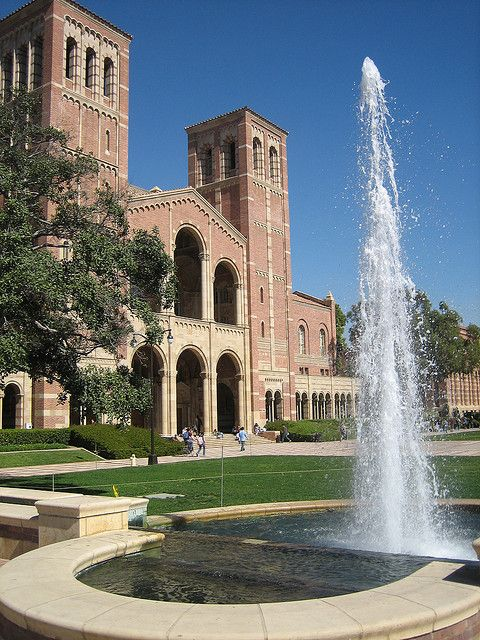 Royce Hall, UCLA campus, Los Angeles, CA.  Photo: Joe Hale, via Flickr