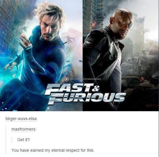 He's fast and he's furious.