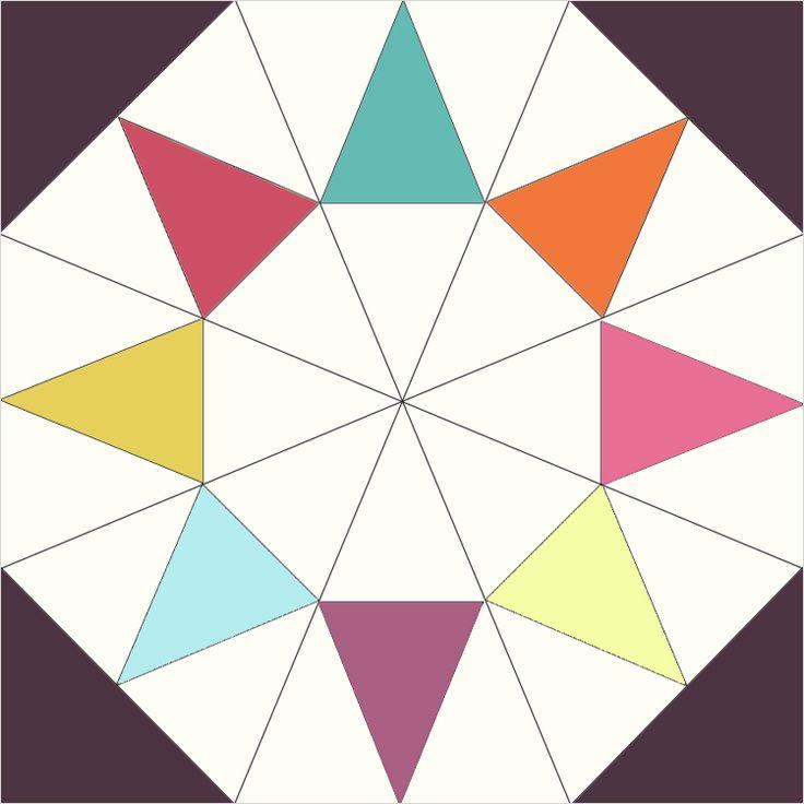 795 best Quilt-Blocks images on Pinterest | Patterns, Tutorials ... : evening star quilt block pattern - Adamdwight.com
