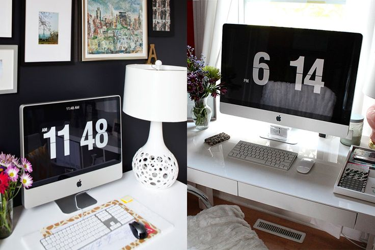 How to turn your screensaver into a flip clock! Free download.