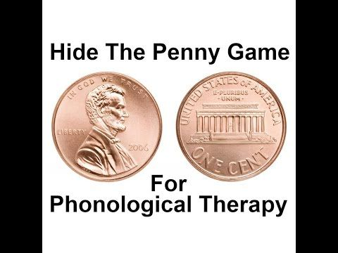 Hide the Penny Game for Phonological Therapy - Speech And Language Kids