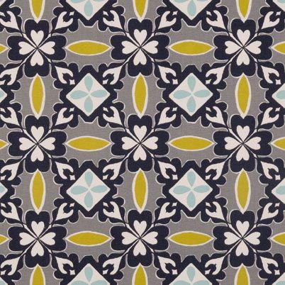 Quadrille Curtain Fabric