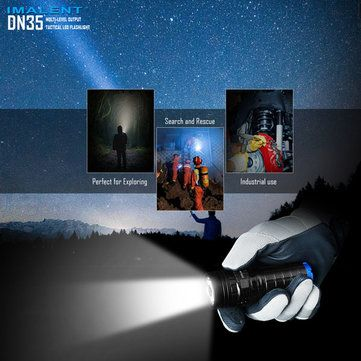 IMALENT DN35 XHP35 HI 2200LM 26650 USB Rechargeable LED Flashlight Sale - Banggood.com