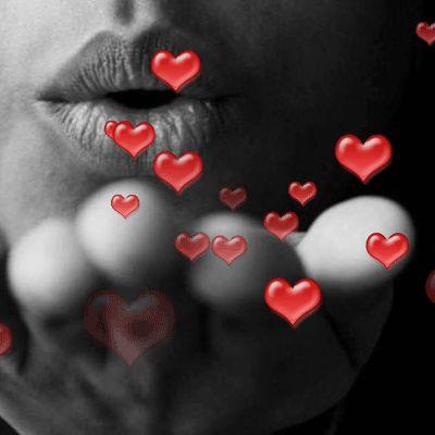 Картинка воздушный поцелуй мужчине прикольные анимация