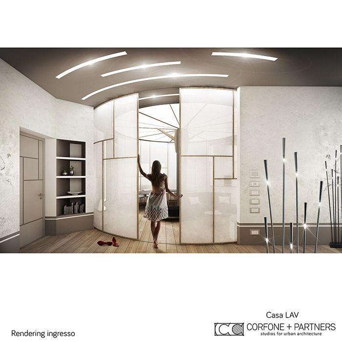 CORFONE+PARTNERS - Interior design Living Room - LAV HOUSE