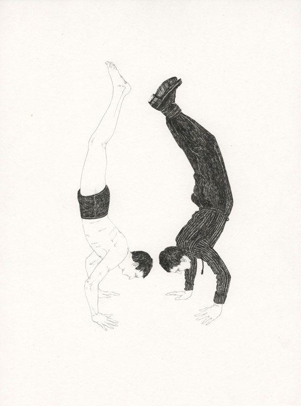 Lauren Nassef -  Handstand, Summer and Fall