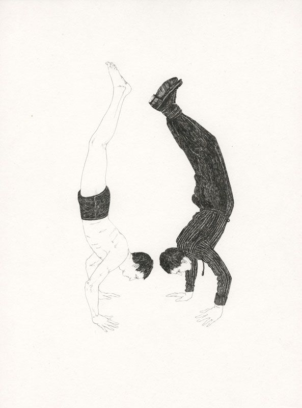 Lauren Nassef -  Handstand, Summer and Fall