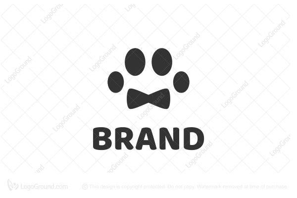 Royal Paw Logo Pet Shop Logo Paw Logo Pet Fashion