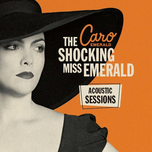 Miss Caro Emerald chose Eudia again, to wear on the cover (and in the booklet) of her new EP 'Acoustic Sessions'. Btw: the EP is downloadable via www.caroemerald.com for free! www.eudia.nl