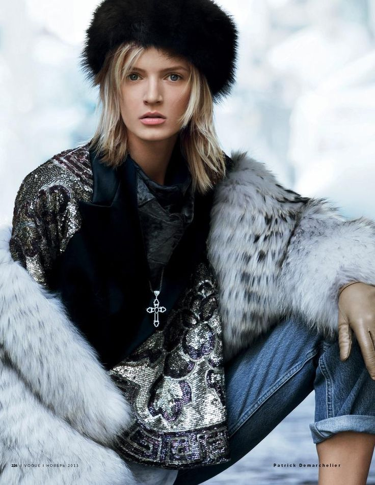 GIO KATHLEEN: Daria Strokous by Patrick Demarchelier for Vogue Russia november 2013