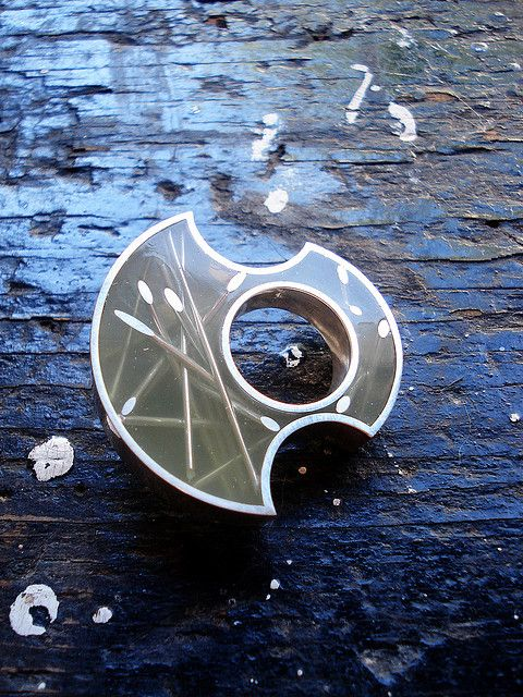 Silver and Resin ring | Flickr - Photo Sharing!
