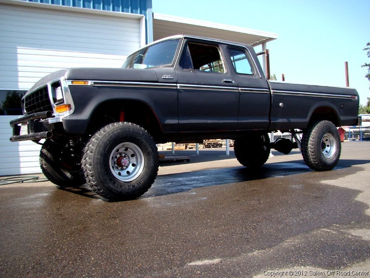 A Skyjacker Suspension 6 Quot Lift On A 1979 Ford F 350