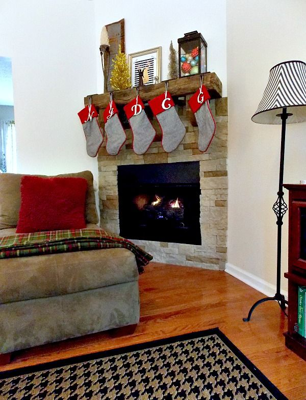 Sweet Parrish Place: DIY Airstone Fireplace Reveal