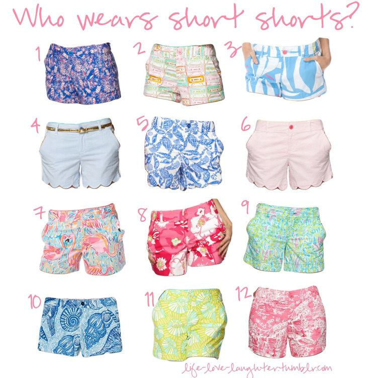 lilly pulitzer shorts... YES PLEASE.I WANT ALL OF THEM!