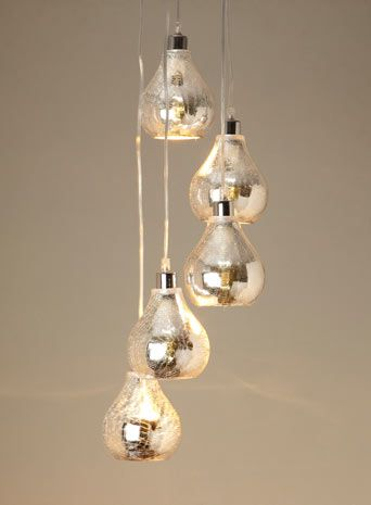 Sabrina Mirrored Cluster Pendant - ceiling lights - BHS Home & Lighting -