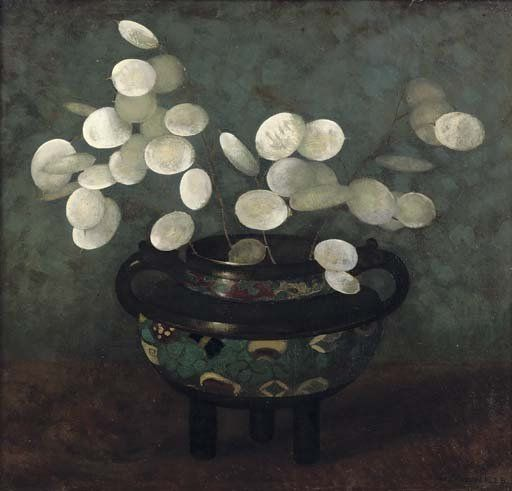 Jan Mankes, Judaspenning in Japanse vaas, 1915