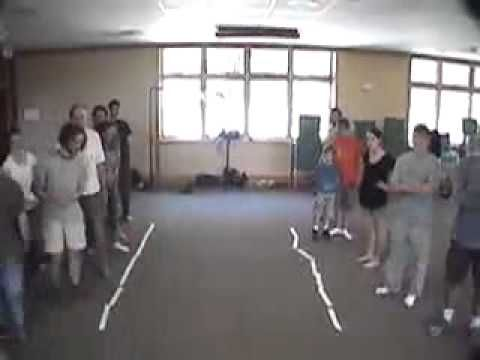 Bus Stop -- Duct Tape Teambuilding Game - YouTube