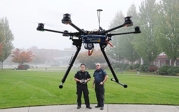 Maple Ridge security company could soon provide public safety by air, as it gets set to launch aerial drones.Westridge Security Ltd. believes it will be the first private security company in B.C. to commercially fly the unmanned aerial vehicles (UAVs).The drones should be ready for service in a few weeks, pending flight permit approval from Transport Canada. They can assist agencies in search and rescue tasks, firefighting, and bylaw enforcement, among other applications.
