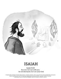 The Prophet Isaiah Sunday School Coloring Pages Delivered Vivid Prophesies That Are