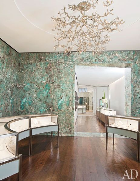 Stunning layout. Tiffany & Co. Opens a New Boutique in SoHo : Architectural Digest