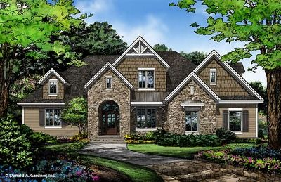 House plan the copland by donald a gardner architects for European style home builders