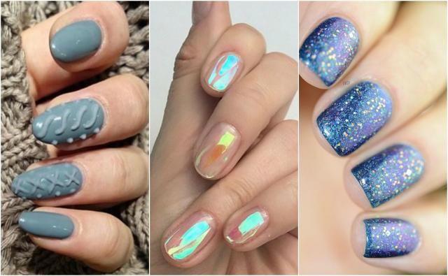 Przegląd zimowych trendów na paznokcie - wzory i inspiracje