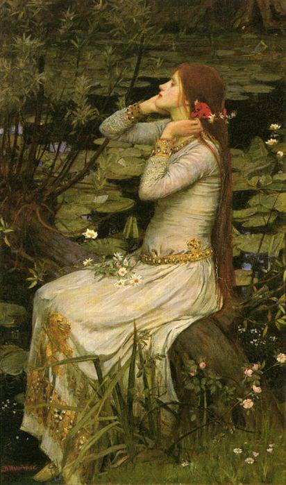 Ophelia   1894  john w...