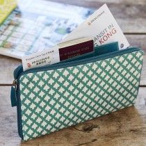 Travel organizer, teal