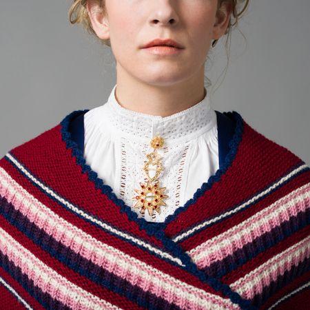 Spøtaduk er et strikket sjal til Fanabunad.