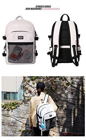 513b2afad9f9 Amazon | [バイモス]BYMOSS マキシマム リュック 3シリーズ レザー(Maximum Backpack 3Series  leather) (ピンク) [並行輸入品] | タウンリュック・ビジネスリュック