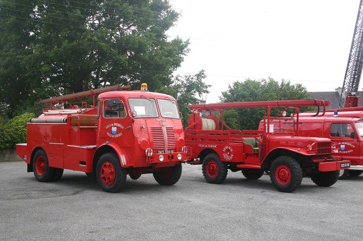 https://flic.kr/p/akuoeS | Camions de pompiers, Fire Trucks | Rassemblement de camions de pompiers, neufs et anciens